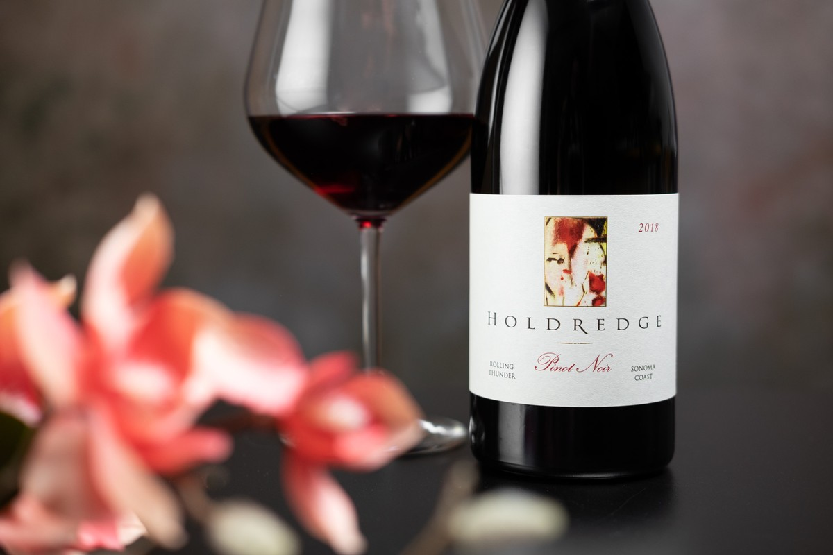 2018 Holdredge Rolling Thunder Sonoma Coast Pinot Noir -95 points